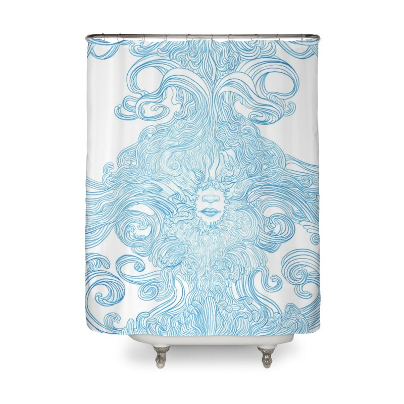 Rapture Home Shower Curtain by artistsjourney's Artist Shop