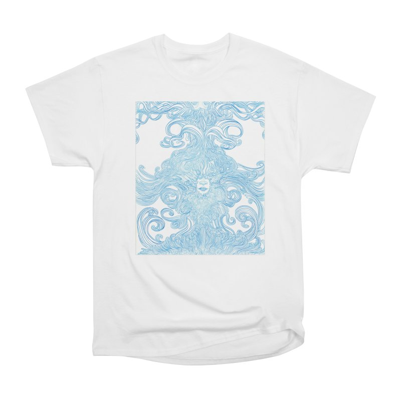 Rapture Women's Heavyweight Unisex T-Shirt by artistsjourney's Artist Shop
