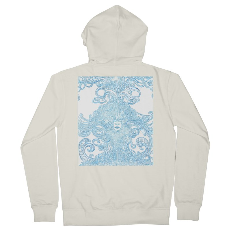 Rapture Men's French Terry Zip-Up Hoody by artistsjourney's Artist Shop