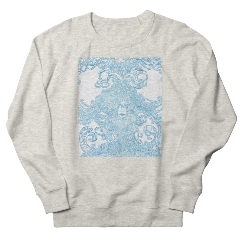 Rapture Women's French Terry Sweatshirt by artistsjourney's Artist Shop