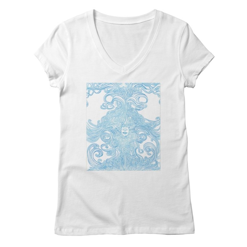 Rapture Women's V-Neck by artistsjourney's Artist Shop