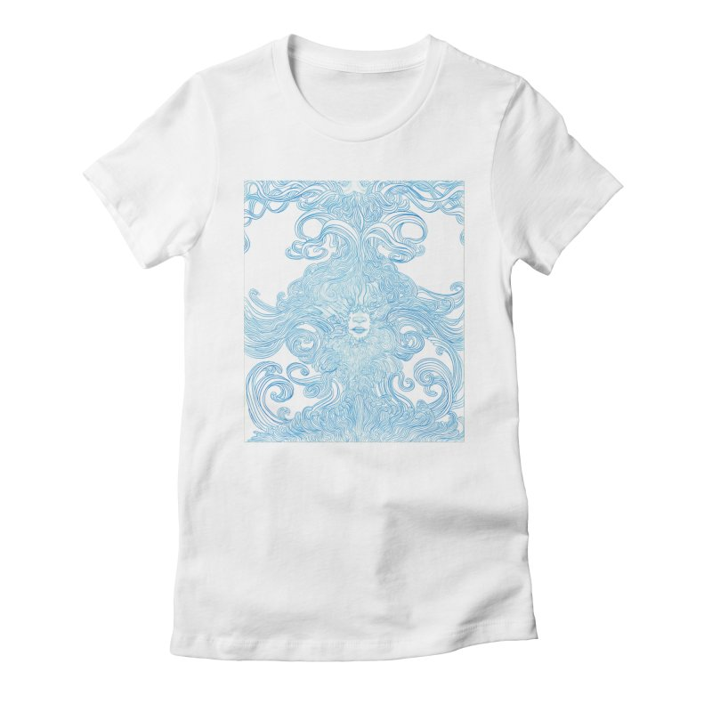 Rapture Women's Fitted T-Shirt by artistsjourney's Artist Shop