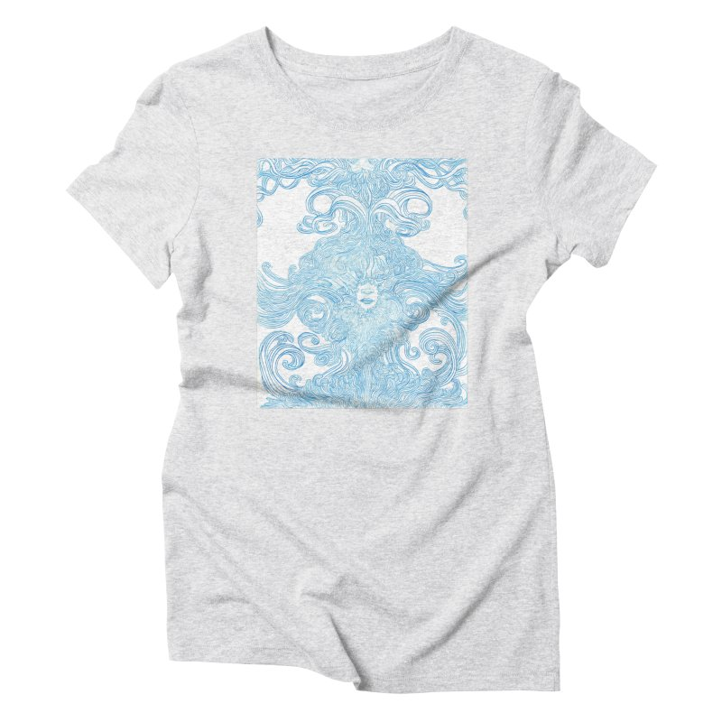 Rapture Women's Triblend T-Shirt by artistsjourney's Artist Shop