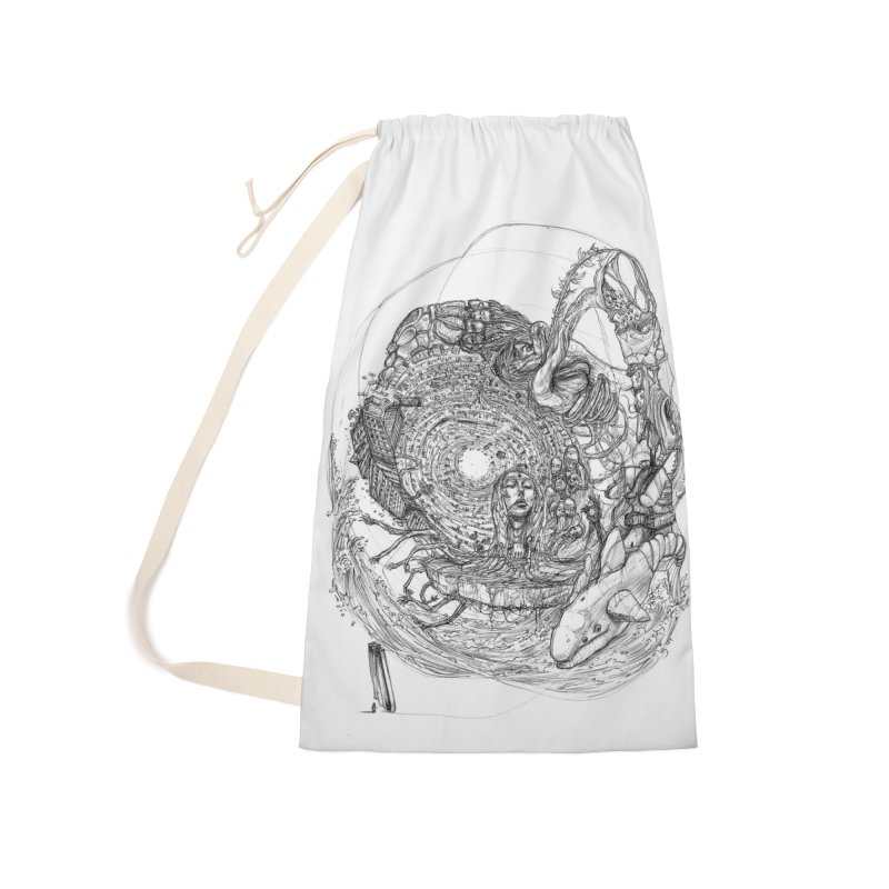 Web of Dreams || Pareidolia Accessories Laundry Bag Bag by artistsjourney's Artist Shop