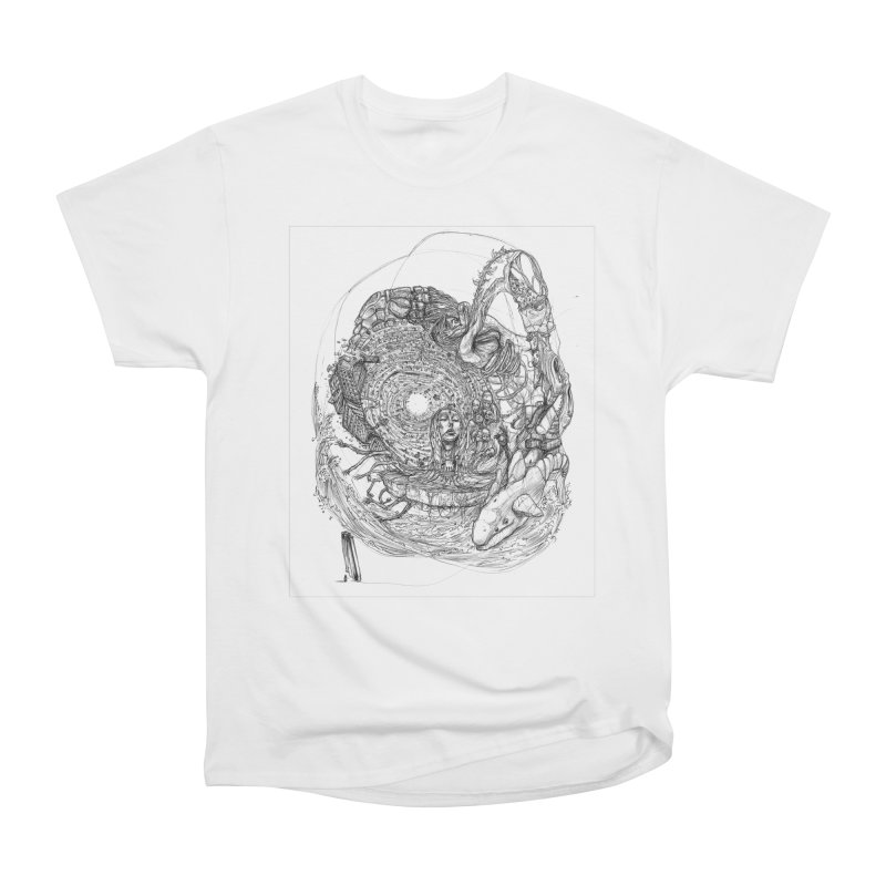 Web of Dreams || Pareidolia Women's Heavyweight Unisex T-Shirt by artistsjourney's Artist Shop