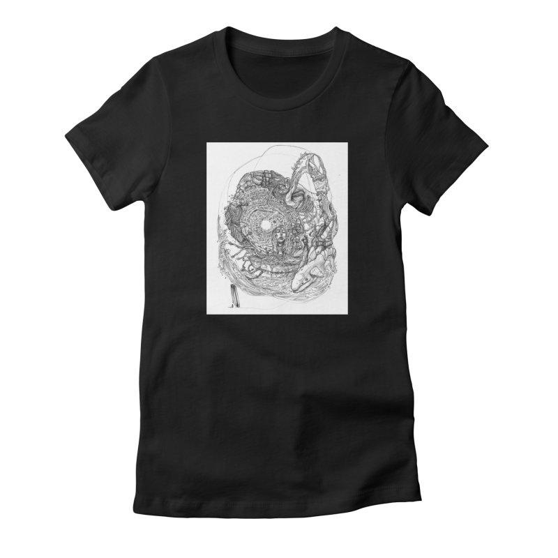 Web of Dreams || Pareidolia Women's T-Shirt by artistsjourney's Artist Shop