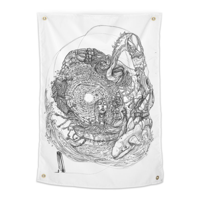 Web of Dreams || Pareidolia Home Tapestry by artistsjourney's Artist Shop