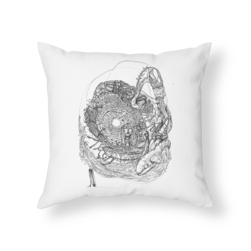 Web of Dreams || Pareidolia Home Throw Pillow by artistsjourney's Artist Shop