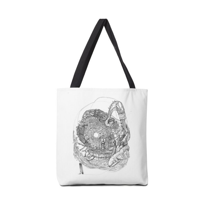 Web of Dreams || Pareidolia Accessories Tote Bag Bag by artistsjourney's Artist Shop
