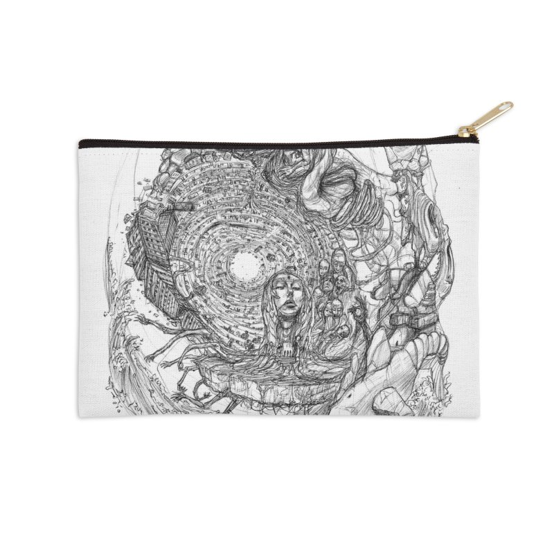 Web of Dreams || Pareidolia Accessories Zip Pouch by artistsjourney's Artist Shop