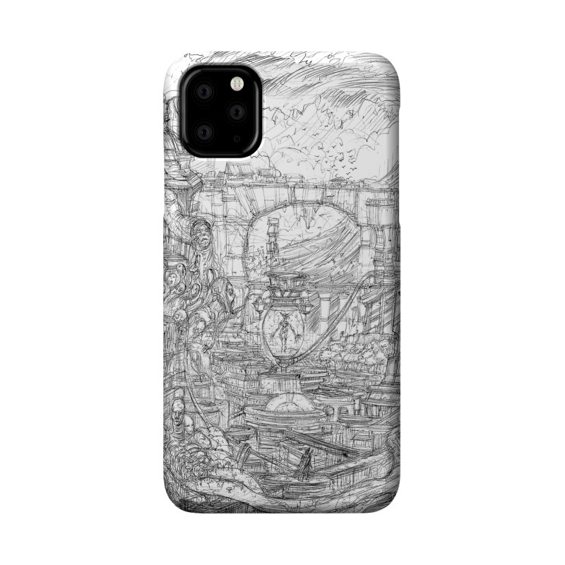 Enter The New Void || Pareidolia Drawing Accessories Phone Case by artistsjourney's Artist Shop