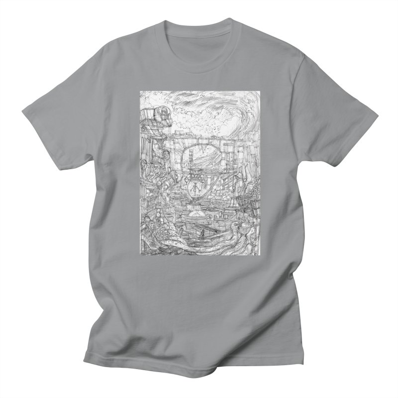 Enter The New Void    Pareidolia Drawing Women's Regular Unisex T-Shirt by artistsjourney's Artist Shop