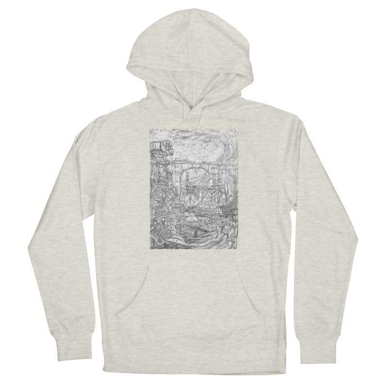 Enter The New Void || Pareidolia Drawing Men's Pullover Hoody by artistsjourney's Artist Shop