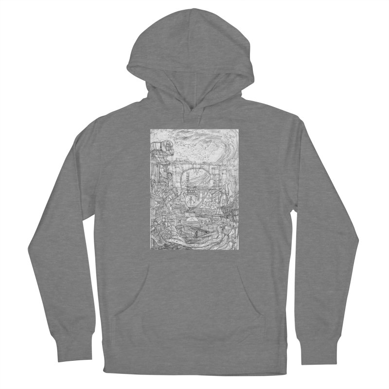 Enter The New Void || Pareidolia Drawing Women's Pullover Hoody by artistsjourney's Artist Shop