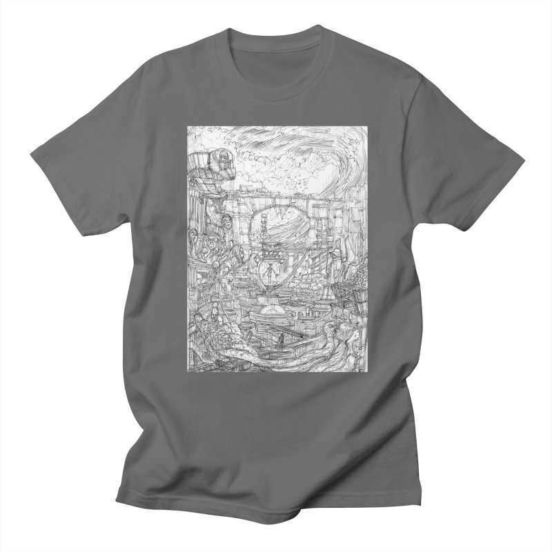 Enter The New Void || Pareidolia Drawing Women's Regular Unisex T-Shirt by artistsjourney's Artist Shop