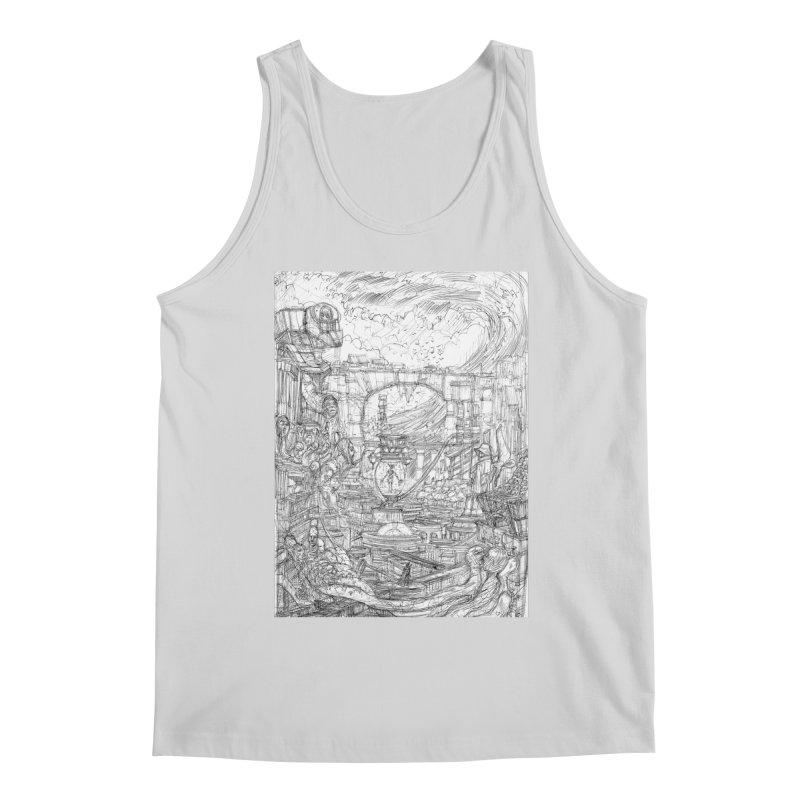 Enter The New Void || Pareidolia Drawing Men's Regular Tank by artistsjourney's Artist Shop