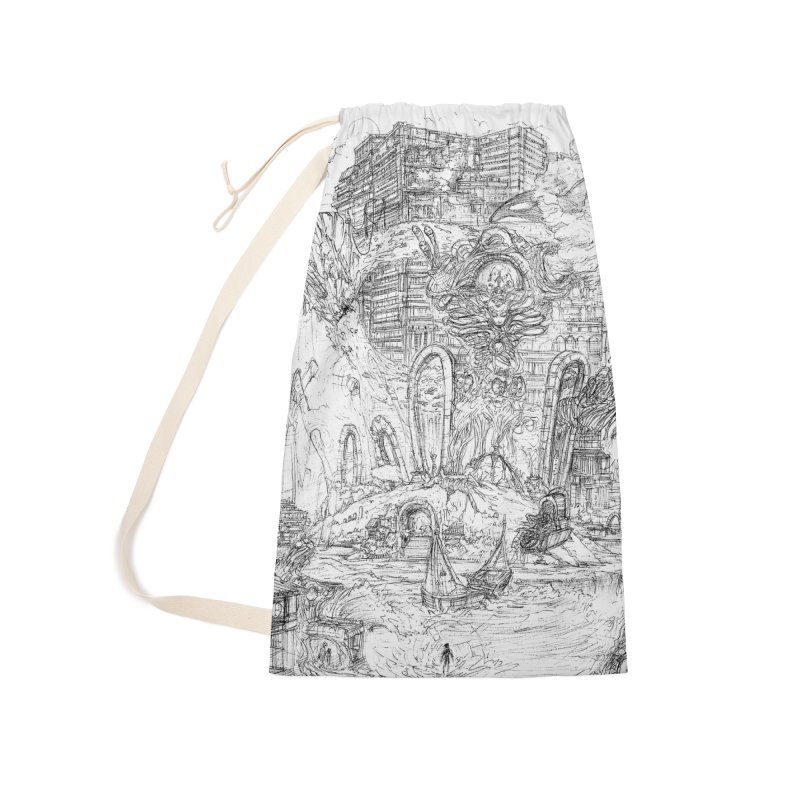 Portals of the Dreamscape || Pareidolia Drawing Accessories Laundry Bag Bag by artistsjourney's Artist Shop