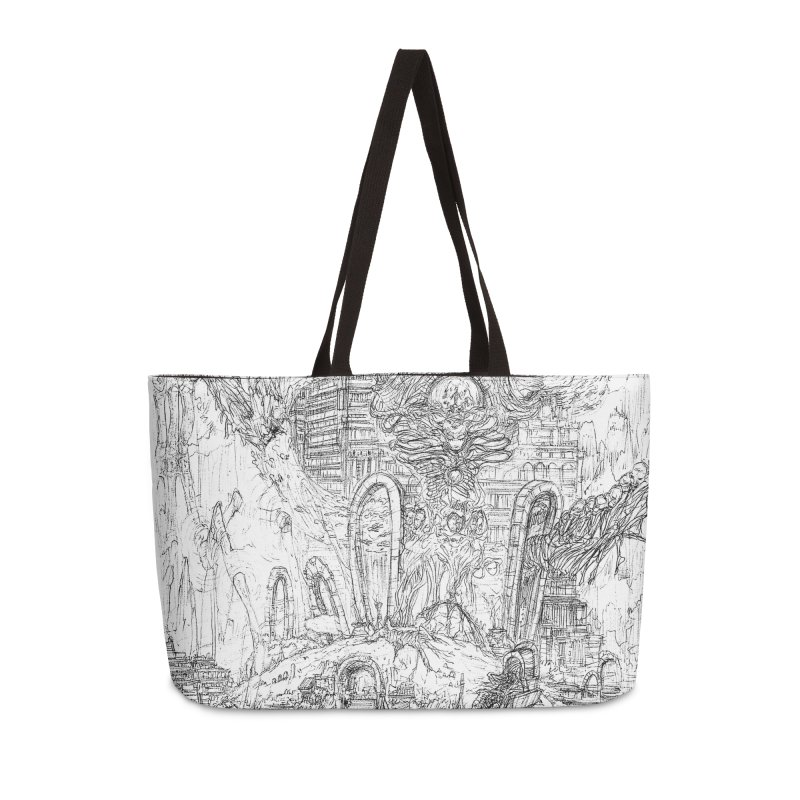 Portals of the Dreamscape || Pareidolia Drawing Accessories Weekender Bag Bag by artistsjourney's Artist Shop