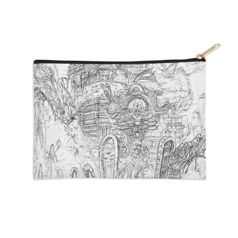 Portals of the Dreamscape || Pareidolia Drawing Accessories Zip Pouch by artistsjourney's Artist Shop