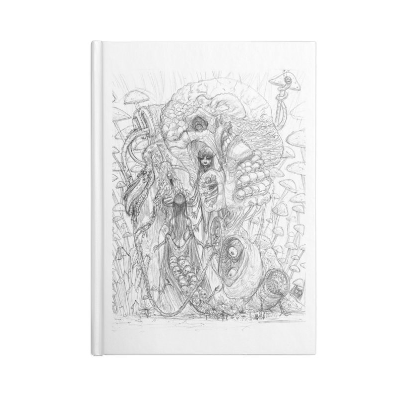 Ethereal Fatalities || Pareidolia Drawing Accessories Notebook by artistsjourney's Artist Shop