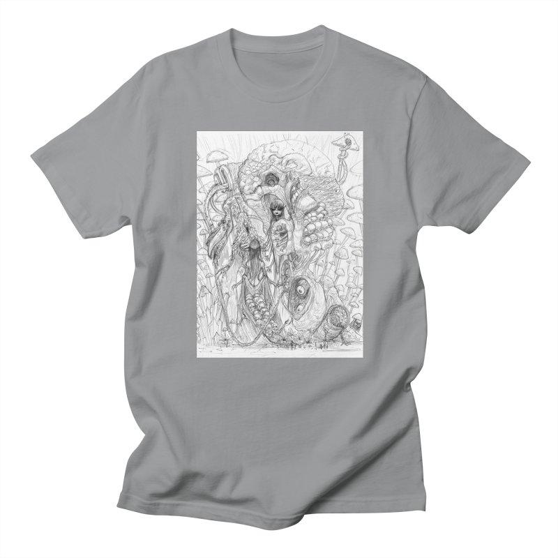 Ethereal Fatalities || Pareidolia Drawing Men's Regular T-Shirt by artistsjourney's Artist Shop