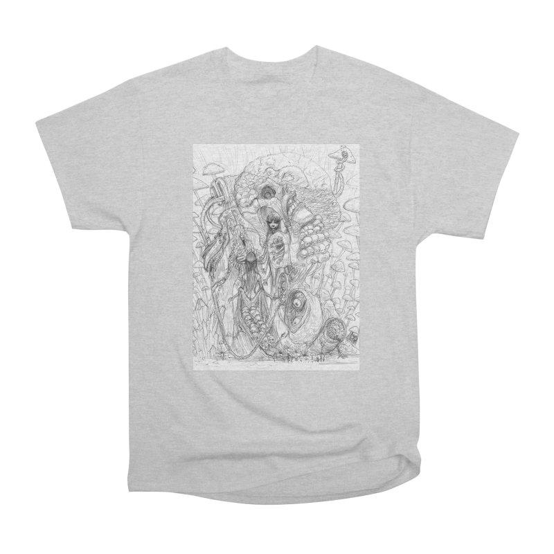 Ethereal Fatalities || Pareidolia Drawing Men's T-Shirt by artistsjourney's Artist Shop