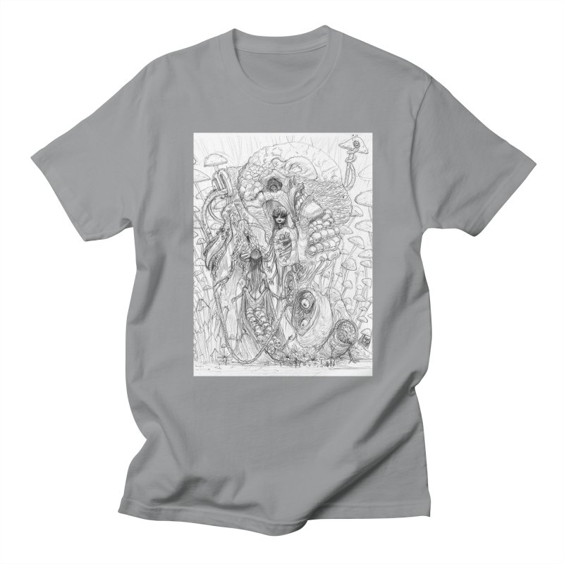 Ethereal Fatalities || Pareidolia Drawing Men's T-Shirt by artistsjourney's Artist Shop