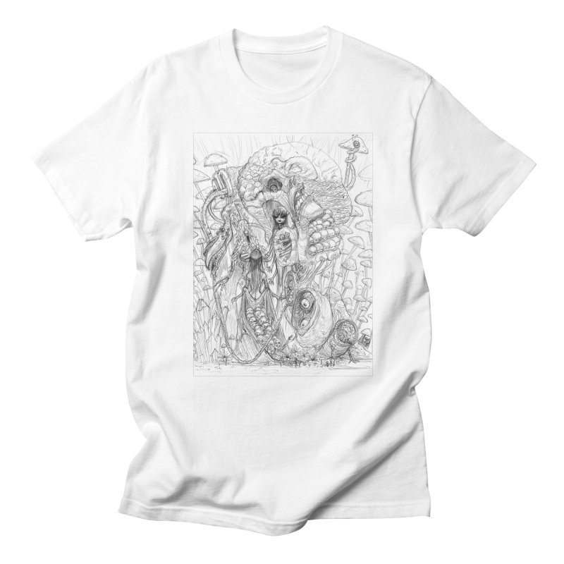 Ethereal Fatalities || Pareidolia Drawing Men's Regular T-Shirt by artistsjourney's Artist Shop