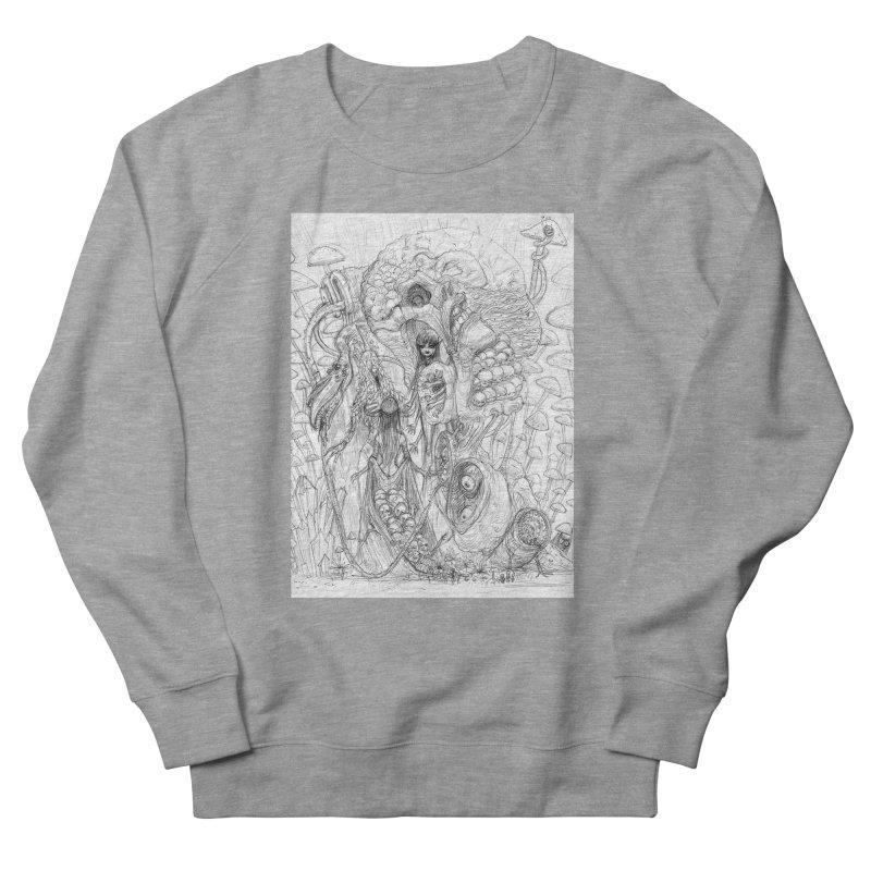 Ethereal Fatalities || Pareidolia Drawing Men's French Terry Sweatshirt by artistsjourney's Artist Shop