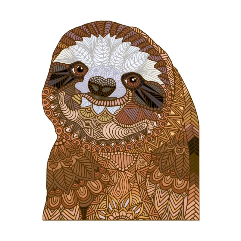 Sloth by Art Love Passion