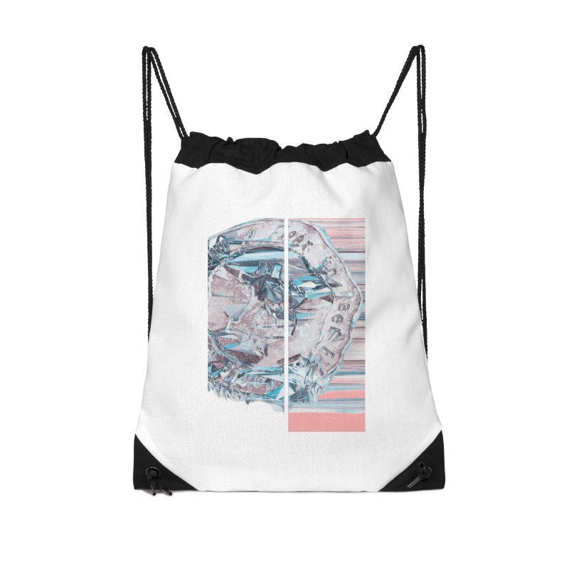 Bitcoin - fcy Accessories Drawstring Bag Bag by A R T L y - Goh's Shop