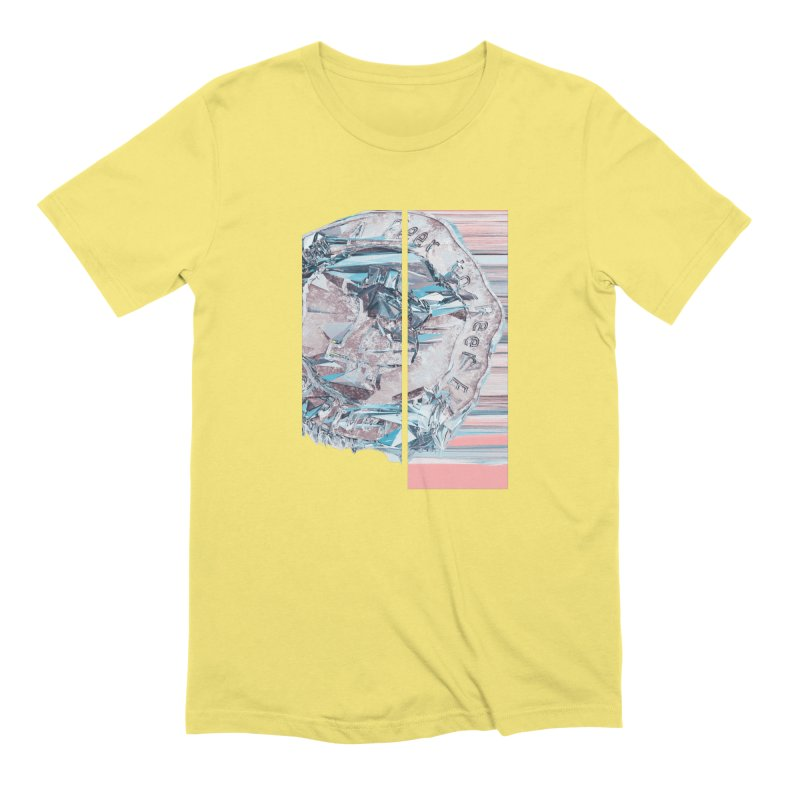 Bitcoin - fcy Men's Extra Soft T-Shirt by A R T L y - Goh's Shop