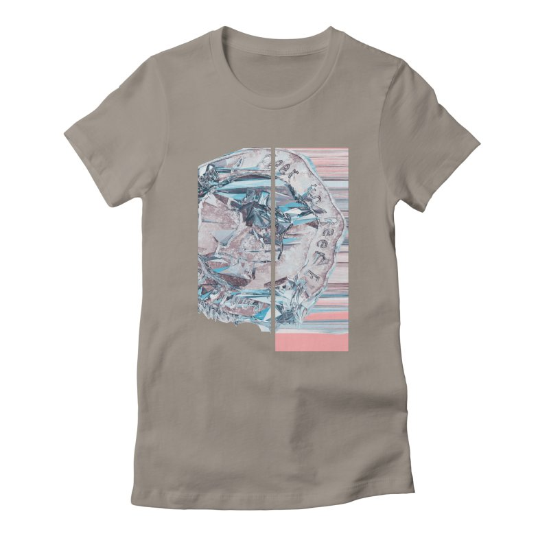 Bitcoin - fcy Women's Fitted T-Shirt by A R T L y - Goh's Shop