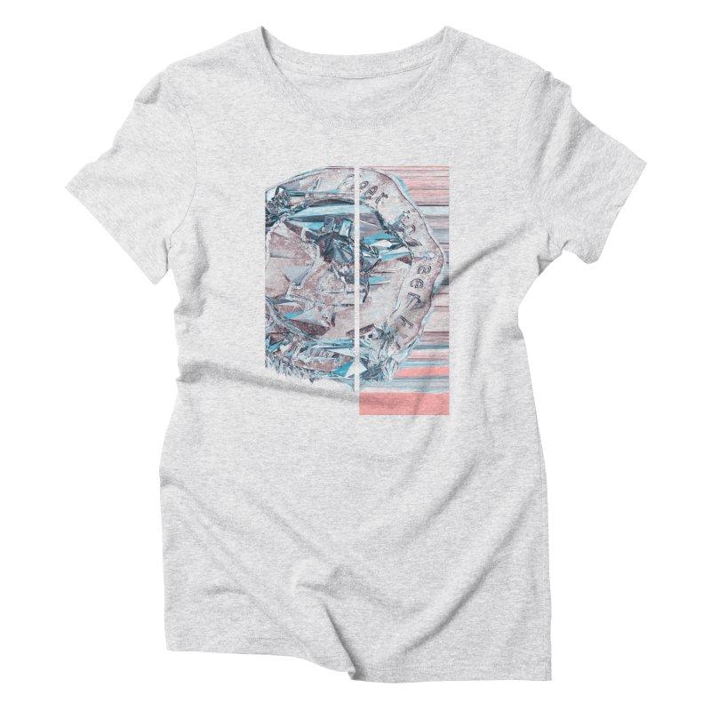 Bitcoin - fcy Women's Triblend T-Shirt by A R T L y - Goh's Shop