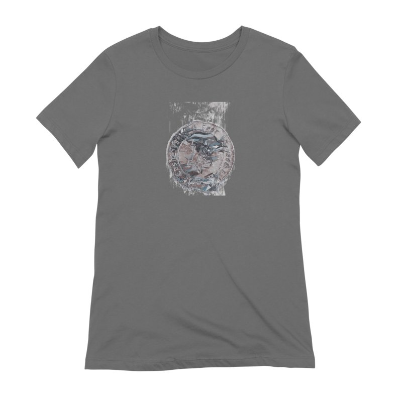 Bitcoin - drk Women's T-Shirt by A R T L y - Goh's Shop