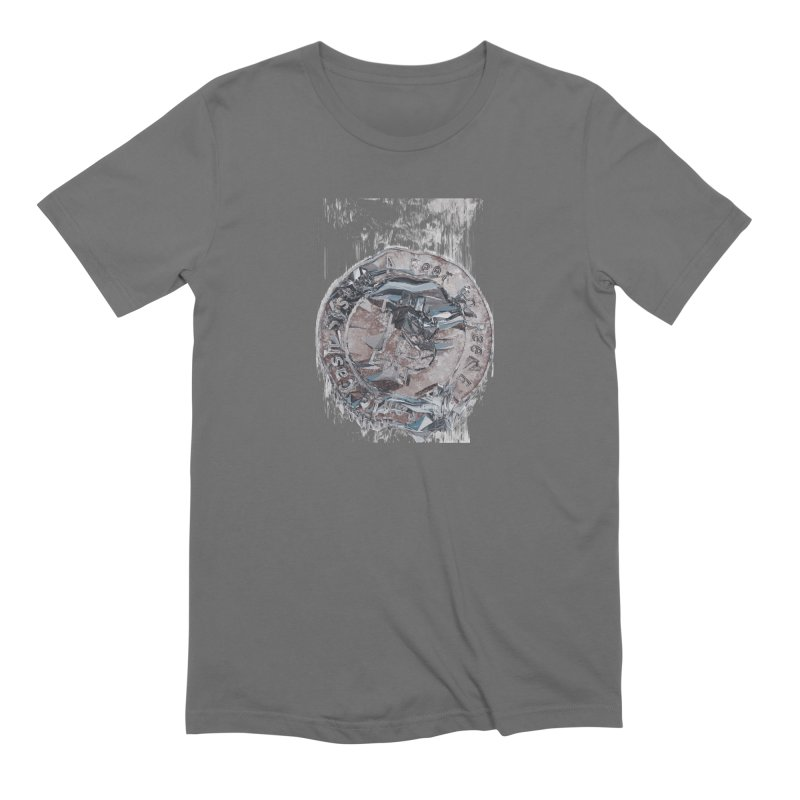 Bitcoin - drk Men's T-Shirt by A R T L y - Goh's Shop