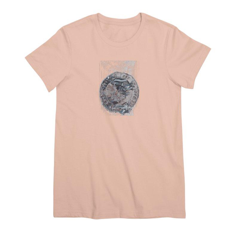 Bitcoin - drk Women's Premium T-Shirt by A R T L y - Goh's Shop