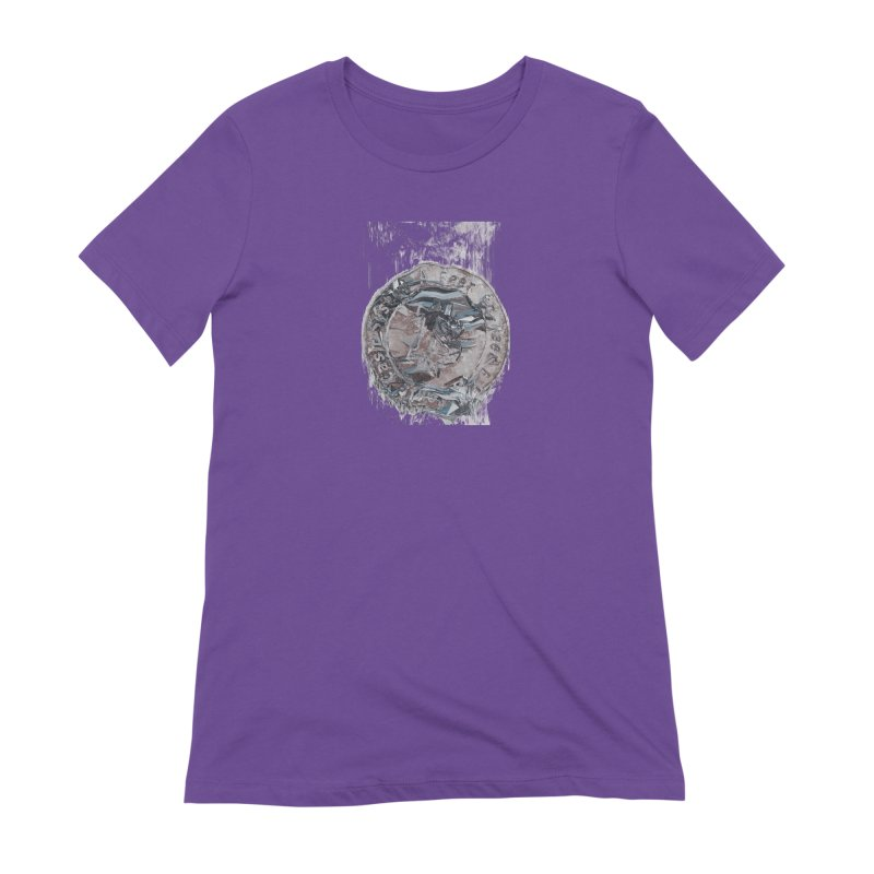 Bitcoin - drk Women's Extra Soft T-Shirt by A R T L y - Goh's Shop