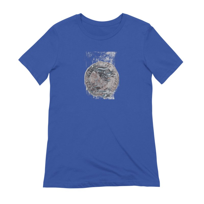Bitcoin - drk Women's Extra Soft T-Shirt by A R T L y - Goh's Shop