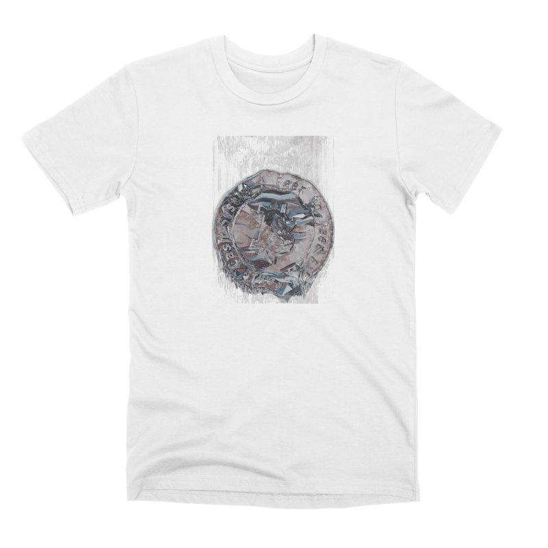 Bitcoin - drk Men's Premium T-Shirt by A R T L y - Goh's Shop