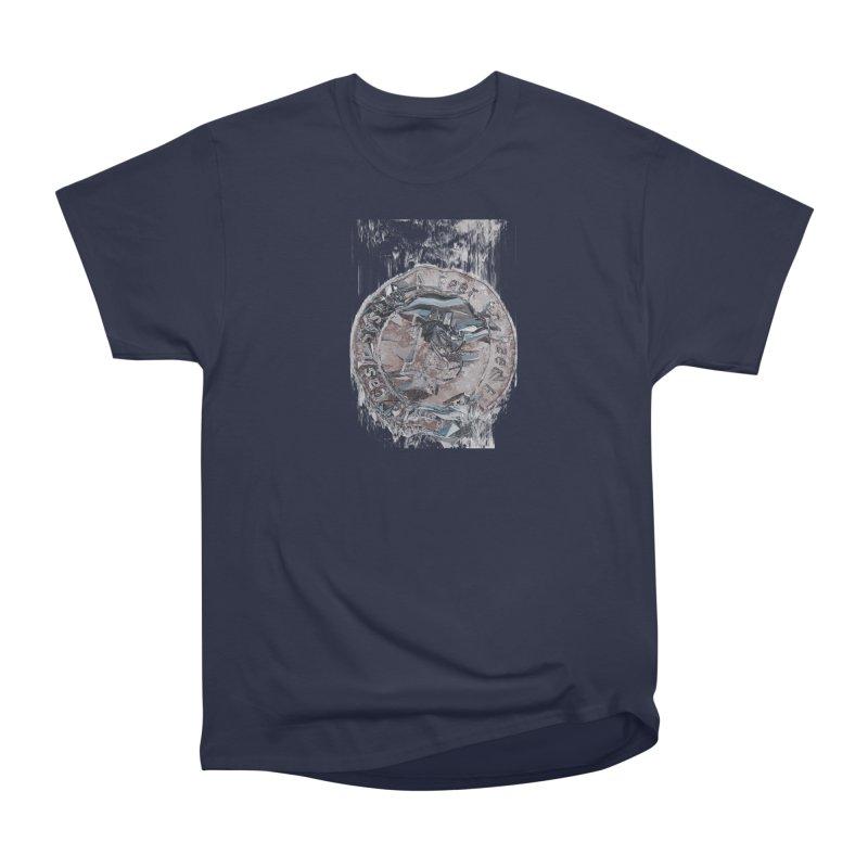 Bitcoin - drk Women's Heavyweight Unisex T-Shirt by A R T L y - Goh's Shop