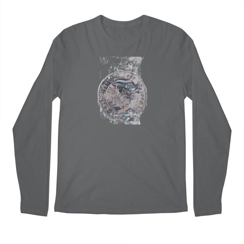 Bitcoin - drk Men's Regular Longsleeve T-Shirt by A R T L y - Goh's Shop