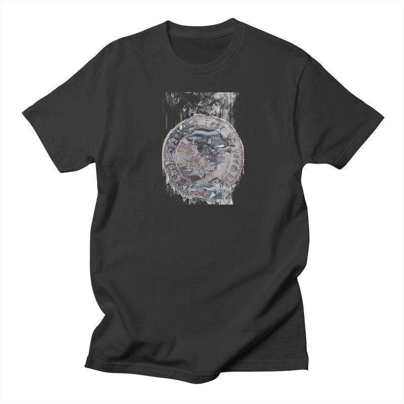 Bitcoin - drk Women's Regular Unisex T-Shirt by A R T L y - Goh's Shop