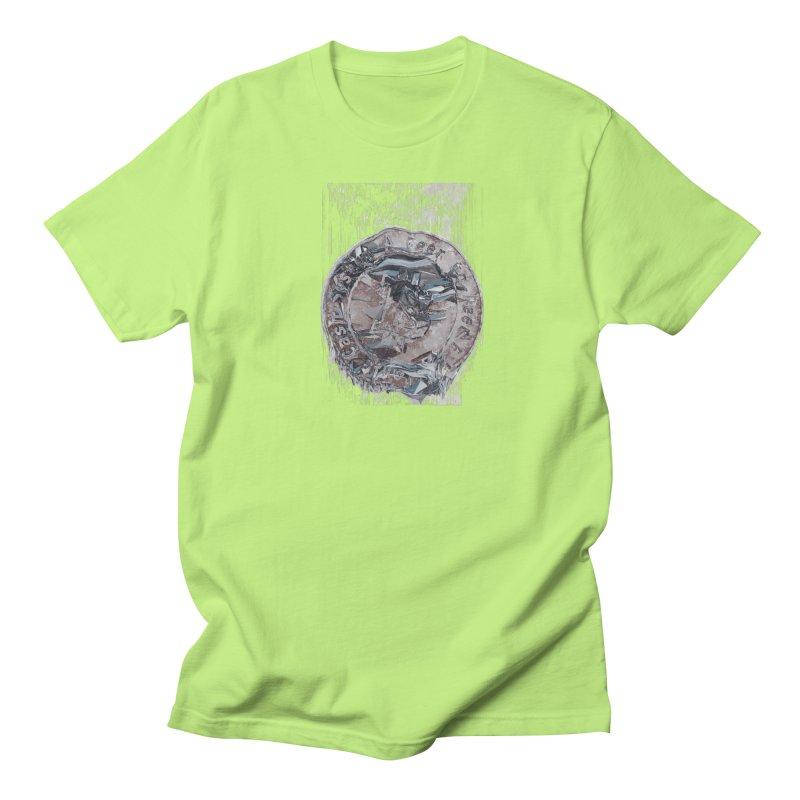 Bitcoin - drk Men's Regular T-Shirt by A R T L y - Goh's Shop