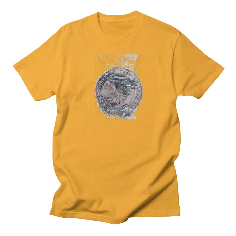 Bitcoin - drk Men's Regular T-Shirt by A R T L y - Goh's Shop