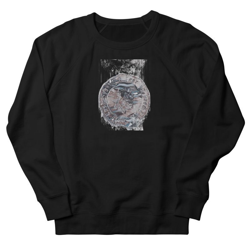 Bitcoin - drk Men's French Terry Sweatshirt by A R T L y - Goh's Shop