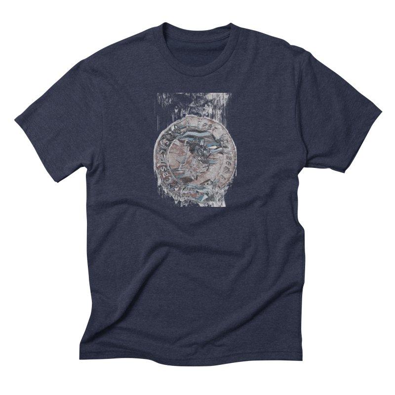 Bitcoin - drk Men's Triblend T-Shirt by A R T L y - Goh's Shop