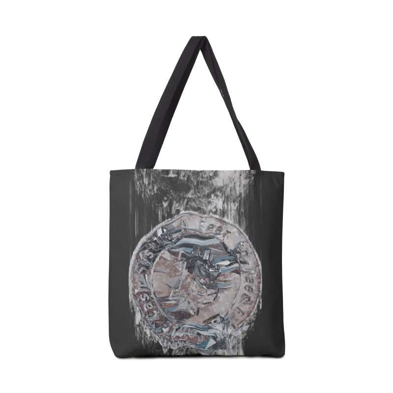Bitcoin - drk Accessories Tote Bag Bag by A R T L y - Goh's Shop