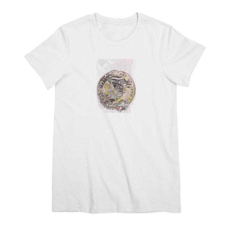 Bitcoin - gld Women's Premium T-Shirt by A R T L y - Goh's Shop