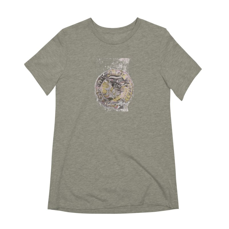 Bitcoin - gld Women's Extra Soft T-Shirt by A R T L y - Goh's Shop